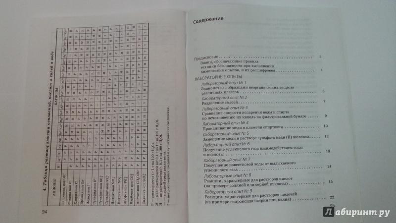 Иллюстрация 12 из 13 для Химия. 8 класс. Тетрадь для лабораторных опытов и практических работ к учебнику О. Габриеляна - Габриелян, Купцова | Лабиринт - книги. Источник: Jesse