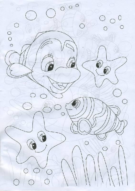 картинки подводный мир рисунки карандашом вместо деревянного