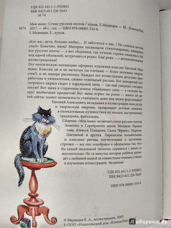 Иллюстрация 17 из 28 для Моя мама - Лермонтов, Черный, Фет | Лабиринт - книги. Источник: Атаманов  Андрей