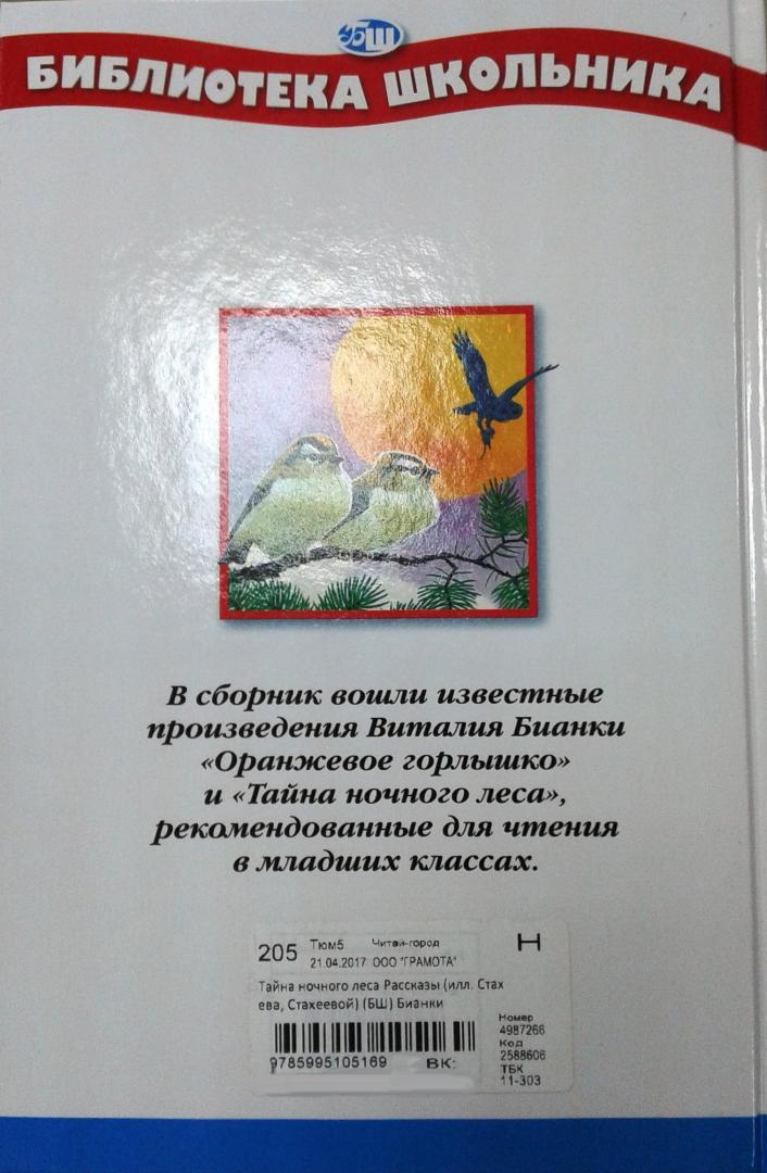 Иллюстрация 9 из 25 для Тайна ночного леса - Виталий Бианки   Лабиринт - книги. Источник: Прудаева  Анастасия Александровна