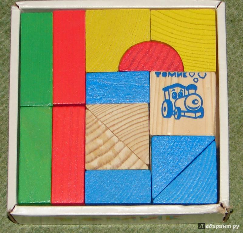 Иллюстрация 4 из 27 для Конструктор цветной (14 деталей) (6678-14) | Лабиринт - игрушки. Источник: Журавлева  Вера