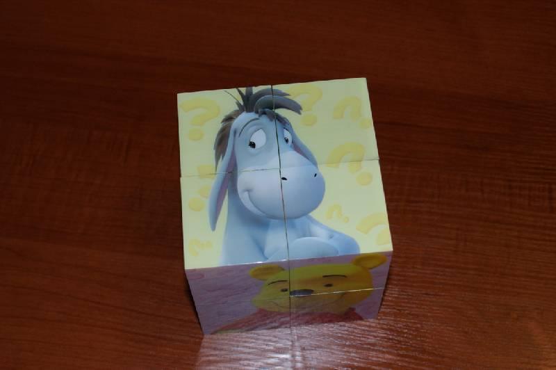 """Иллюстрация 7 из 12 для Магнитные кубики-пазлы """"Мои друзья Тигр и Пух"""" (8 кубиков, 12 пазлов) (14065)   Лабиринт - игрушки. Источник: Blossom"""