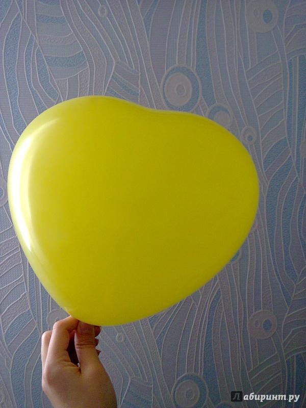 """Иллюстрация 3 из 5 для Воздушный шар """"Сердце"""" (в ассортименте)   Лабиринт - сувениры. Источник: Sonya Summer"""