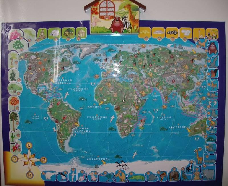 Иллюстрация 13 из 17 для Говорящая карта мира (6249) | Лабиринт - игрушки. Источник: Мариста
