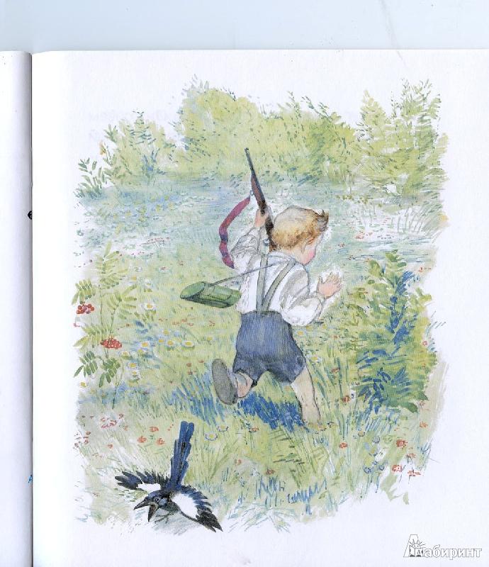 Картинки к рассказу чарушина зайчата
