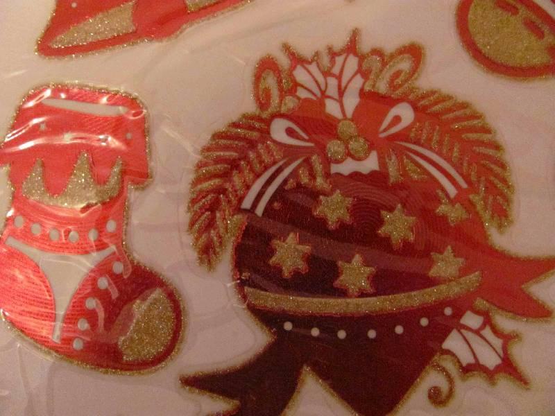 Иллюстрация 6 из 8 для Украшение новогоднее оконное (22273) | Лабиринт - сувениры. Источник: SaDacO